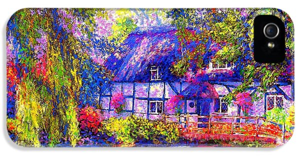 English Cottage IPhone 5 / 5s Case by Jane Small