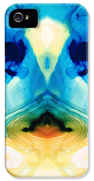 Enlightenment - Abstract Art By Sharon Cummings IPhone 5 Case by Sharon Cummings