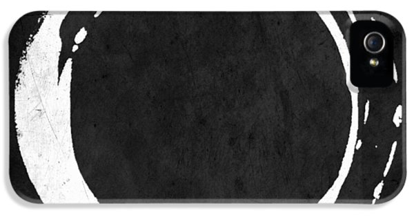 Enso No. 107 White On Black IPhone 5 Case