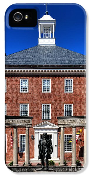 Equal Justice Under Law IPhone 5 Case