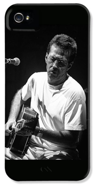 Eric Clapton iPhone 5 Case - Eric Clapton 003 by Timothy Bischoff