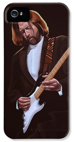 Eric Clapton Painting IPhone 5 Case