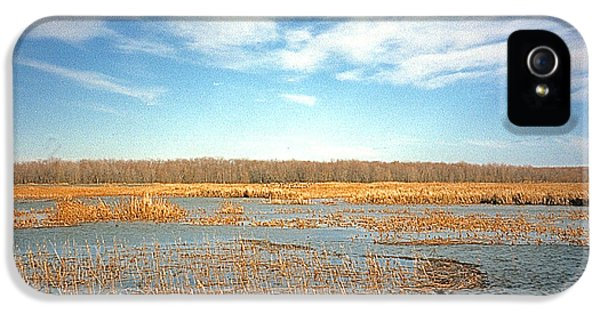 IPhone 5 Case featuring the photograph Etang by Marc Philippe Joly