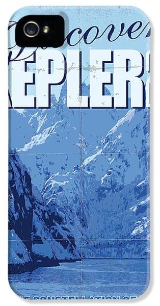 Exoplanet 02 Travel Poster Kepler 22b IPhone 5 Case