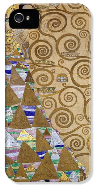 Expectation Preparatory Cartoon For The Stoclet Frieze IPhone 5 Case by Gustav Klimt