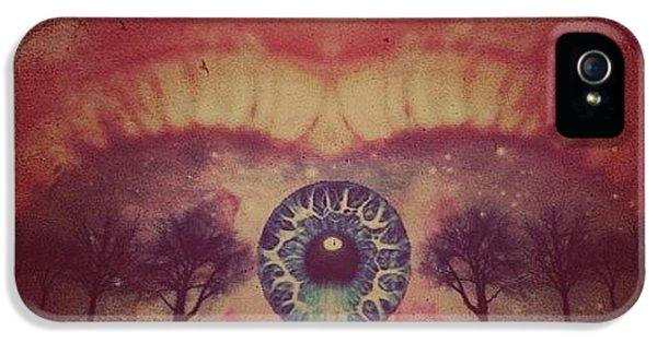 Edit iPhone 5 Case - eye #dropicomobile #filtermania by Tatyanna Spears