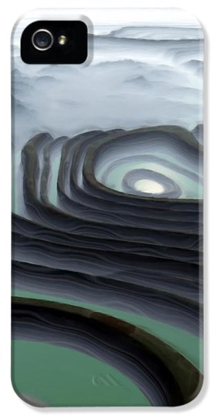 Eye Of The Minotaur IPhone 5 Case by Pet Serrano