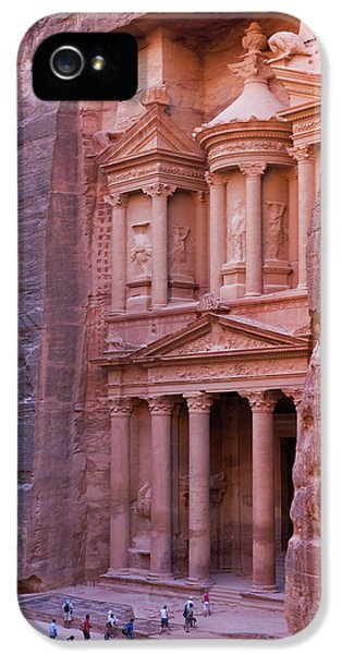 Facade Of Treasury (al Khazneh IPhone 5 Case