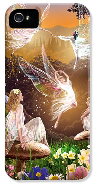 Fairy Ballet IPhone 5 Case by Garry Walton