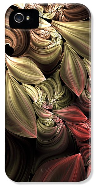 Fallen From Grace Abstract IPhone 5 Case by Georgiana Romanovna