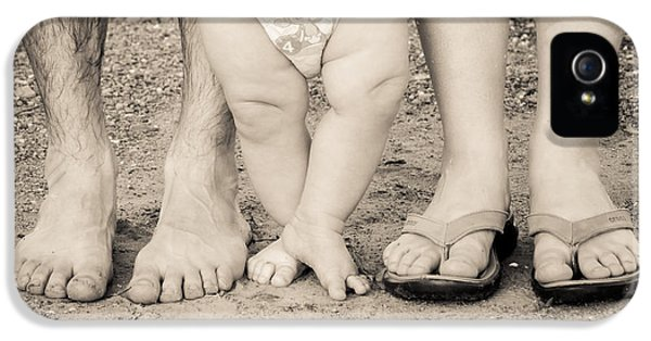 Family Feets IPhone 5 Case