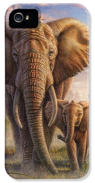 Family Stroll IPhone 5 Case by Phil Jaeger