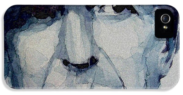 Famous Blue Raincoat IPhone 5 Case by Paul Lovering