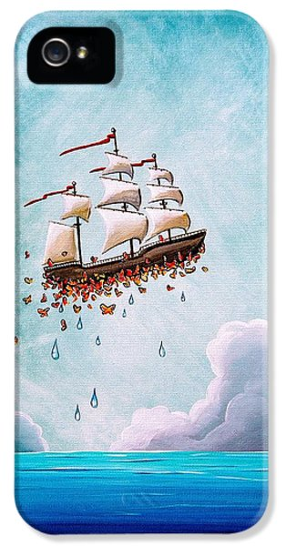 Fantastic Voyage IPhone 5 Case by Cindy Thornton