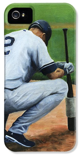 Yankee Stadium iPhone 5 Case - Farewell Captain by Joe Maracic