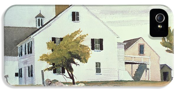 Farm House At Essex Massachusetts IPhone 5 Case