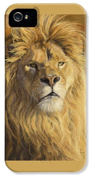 Fearless - Detail IPhone 5 Case by Lucie Bilodeau