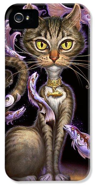 Feline Fantasy IPhone 5 Case by Jeff Haynie