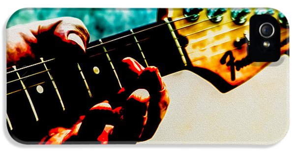 Eric Clapton iPhone 5 Case - Fender Strat by Bob Orsillo