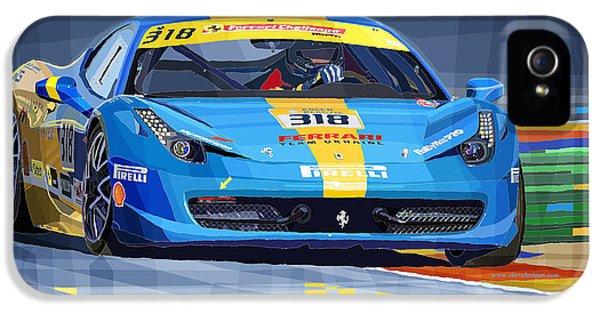 2012 Ferrari 458 Challenge Team Ukraine 2012 IPhone 5 Case