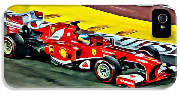 Ferrari F1 Beauty IPhone 5 Case by Florian Rodarte