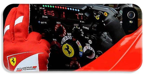 Ferrari Formula 1 Cockpit IPhone 5 Case by Marvin Blaine