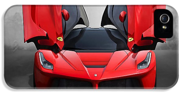 Ferrari IPhone 5 Case by Marvin Blaine