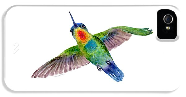 Fiery-throated Hummingbird IPhone 5 Case