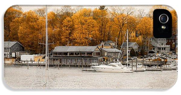 Finn's Harborside East Greenwich Rhode Island IPhone 5 Case by Lourry Legarde