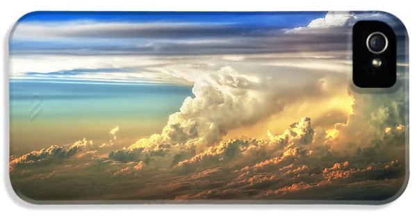 Fire In The Sky From 35000 Feet IPhone 5 Case