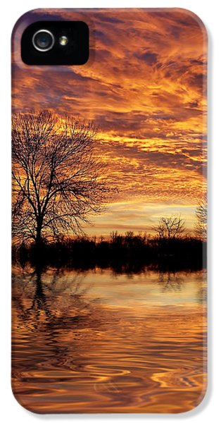 Fire Painters In The Sky IPhone 5 Case