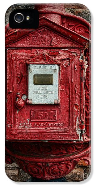 Fireman - The Fire Alarm Box IPhone 5 Case