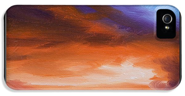 Firesun Sky IPhone 5 Case by James Christopher Hill