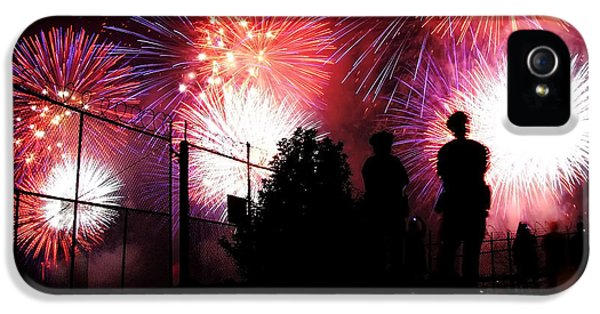 Fireworks IPhone 5 Case by Nishanth Gopinathan