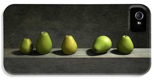 Five Pears IPhone 5 Case by Cynthia Decker