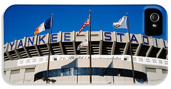 Flags In Front Of A Stadium, Yankee IPhone 5 Case