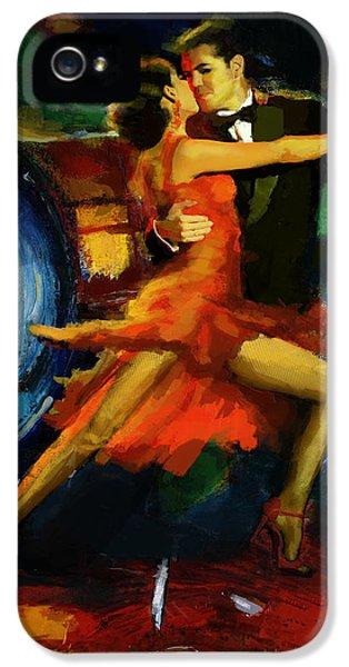 Flamenco Dancer 029 IPhone 5 Case by Catf