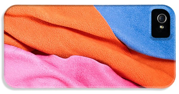 Fleece Material IPhone 5 Case by Tom Gowanlock