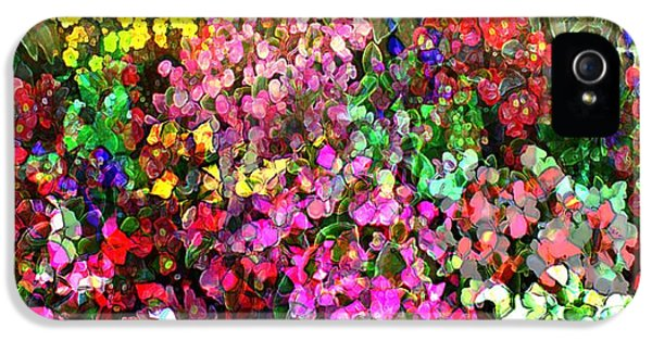 Floral Basket 1 2 To 1 Aspect Ratio IPhone 5 Case by Terence Morrissey