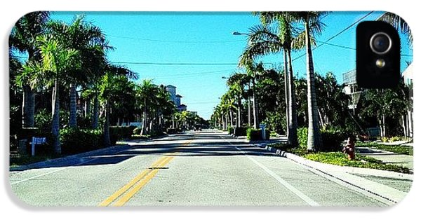 Sunny iPhone 5 Case - Florida Drive by Jonathan Keane