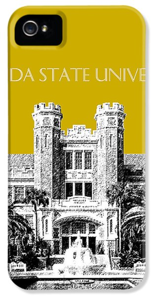 Florida State University - Gold IPhone 5 Case by DB Artist