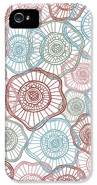 Flower Squiggle IPhone 5 Case by Susan Claire