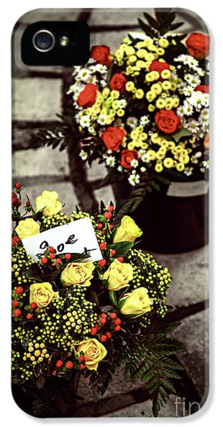 Flowers On The Market In France IPhone 5 Case by Elena Elisseeva