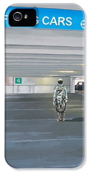 Science Fiction iPhone 5 Case - Flying Cars To The Right by Scott Listfield
