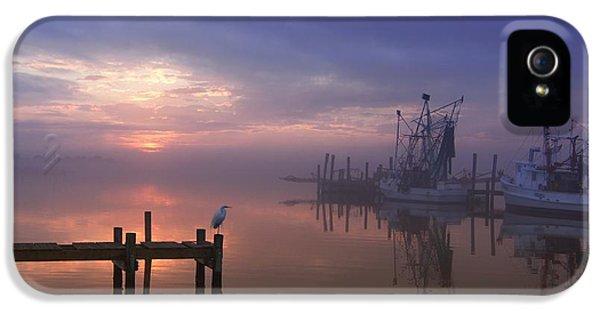 Foggy Sunset Over Swansboro IPhone 5 Case
