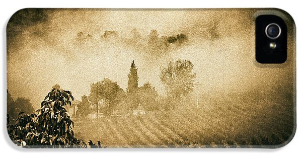 IPhone 5 Case featuring the photograph Foggy Tuscany by Silvia Ganora