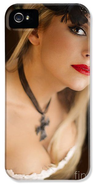 Follow Me Into The Night IPhone 5 Case by Evelina Kremsdorf