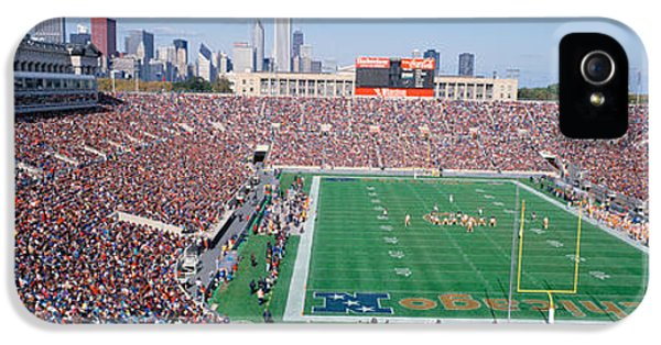 Football, Soldier Field, Chicago IPhone 5 Case by Panoramic Images