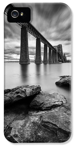White iPhone 5 Case - Forth Bridge by Dave Bowman