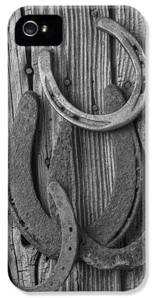 Four Horseshoes IPhone 5 Case